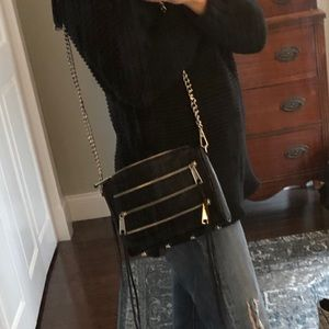 Rebecca Minkoff Triple Zip Crossbody Bag